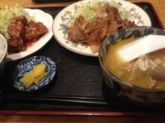 神崎翔 公式ブログ/食べたな 画像1
