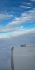 テツ(テツandトモ) 公式ブログ/雲の上(*^^*) 画像1