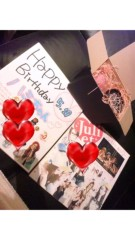 Juliet 公式ブログ/birthday?? 画像2