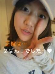 佐々木友里 公式ブログ/アンサーと、お知らせ☆ 画像2
