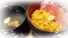 桜井聖良 公式ブログ/北海道4ウニとろ丼 画像1
