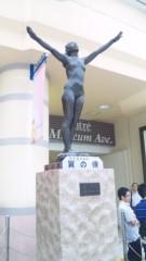 エリザ 公式ブログ/上野駅の、翼の像 画像1