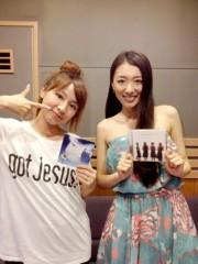 藤岡麻美 公式ブログ/下川みくにちゃんがDJを務めるラジオ「Music Spice」に行って来ました! 画像1