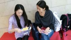 藤岡麻美 公式ブログ/新井利佳ちゃんasキャメロンを羽田空港までお見送りして参りました! 画像1