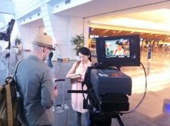 藤岡麻美 公式ブログ/ショートフィルム撮影〜桃園国際空港〜 画像2