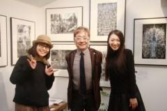 藤岡麻美 公式ブログ/ハービー山口さんの写真展にblue chee'sの写真が展示されました☆ 画像2