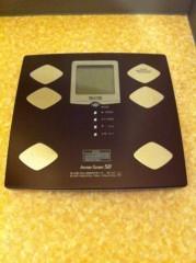 磯前方章 公式ブログ/体重計 画像1