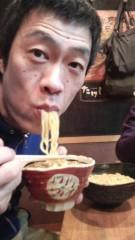 大橋央旺(タンバリン) 公式ブログ/オスマシおじさん、つけ麺すするの巻 画像2