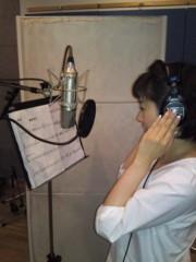 かとうれい子 公式ブログ/NHKみんなのうた『絵はがき』のレコーディング 画像2