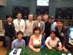 かとうれい子 公式ブログ/NHKみんなのうた『絵はがき』のレコーディング 画像3