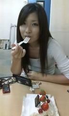 稲村真奈美 公式ブログ/ケーキを 画像1