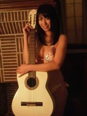ながせみほ 公式ブログ/水着にギター 画像2