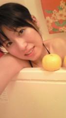 ながせみほ 公式ブログ/半身浴中より 画像3