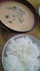 ながせみほ 公式ブログ/大豆の味噌汁 画像1