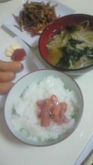 ながせみほ 公式ブログ/炊きたてご飯に、塩辛 画像1