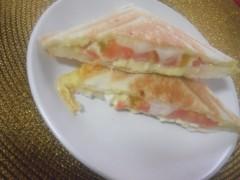 ながせみほ 公式ブログ/ホットサンドイッチ 画像1
