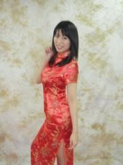 ながせみほ 公式ブログ/前日のチャイナ服着ました 画像2