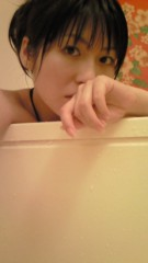 ながせみほ 公式ブログ/半身浴中より 画像2