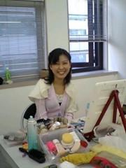 大和田礼子 公式ブログ/撮影中 画像1