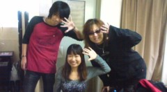 キミーブラウニー 公式ブログ/長友仍世さんとユーストリーム★ 画像1