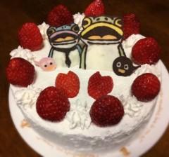 南結衣 公式ブログ/ケーキ 画像1