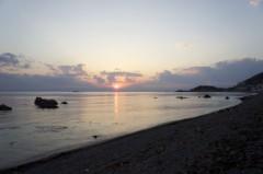 川島けん 公式ブログ/【夕焼けハンター】いい感じの雲と空でした 画像2