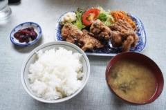 川島けん 公式ブログ/[Lunch]山海亭・唐揚げ定食 画像1