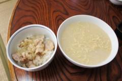 川島けん 公式ブログ/[Lunch]マルちゃん正麺:とんこつ味、小塩豚バラ丼 画像2