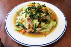 川島けん 公式ブログ/[Lunch]野菜炒め 画像2