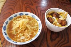 川島けん 公式ブログ/[Lunch]寿がきや:みそ煮込みうどんと親子丼。 画像2