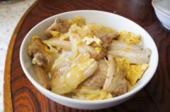 川島けん 公式ブログ/[Lunch]豚バラ卵とじ 画像1