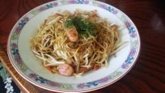 川島けん 公式ブログ/[Lunch]もやし焼きそば 画像1