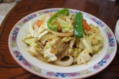 川島けん 公式ブログ/[Lunch]キャベツ野菜炒め 画像2