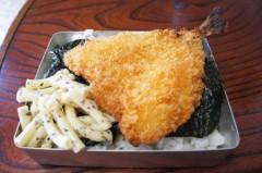 川島けん 公式ブログ/[Lunch]のり弁とカップヌードル 画像2