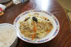 川島けん 公式ブログ/[Lunch]野菜炒めライス 画像1