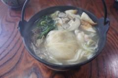 川島けん 公式ブログ/[Lunch]鍋うどん。 画像1