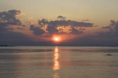 川島けん 公式ブログ/【夕焼けハンター】いい感じの雲と空でした 画像1