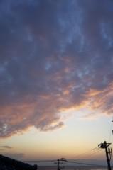 川島けん 公式ブログ/間に合った夕焼け 画像3