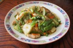 川島けん 公式ブログ/[Lunch]肉野菜餡かけ丼 画像1