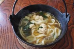川島けん 公式ブログ/[Lunch]鉄鍋で野菜煮込みうどん。 画像2