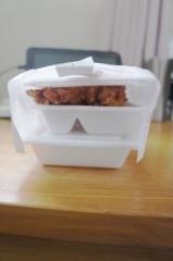 川島けん 公式ブログ/[Lunch]唐揚げ弁当 画像1