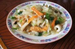川島けん 公式ブログ/[Lunch]野菜多め中華丼 画像1