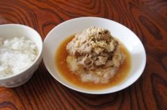 川島けん 公式ブログ/[Lunch]おろしポン酢しゃぶしゃぶ。 画像1