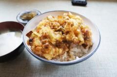 川島けん 公式ブログ/[Lunch]山海亭・かき揚げ丼 画像2