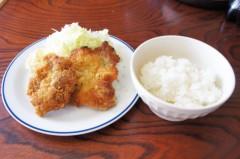 川島けん 公式ブログ/[Lunch]チキンカツ定食 画像2
