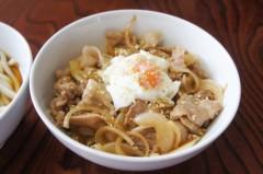 川島けん 公式ブログ/[Lunch]小たぬきうどんと小豚バラ丼。 画像2
