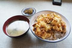 川島けん 公式ブログ/[Lunch]山海亭・かき揚げ丼 画像1