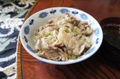 川島けん 公式ブログ/[塩葱豚バラ丼]都心はスゴイ暑いんだな。 画像2