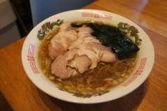 川島けん 公式ブログ/[Lunch]醤油ラーメン。 画像1