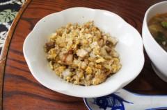 川島けん 公式ブログ/[Lunch]野菜あんかけラーメンとミニチャーハン 画像3